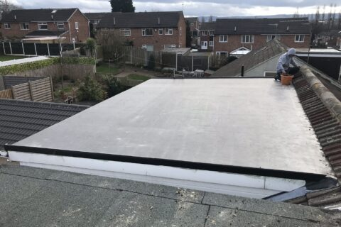 Flat Rubber Roofing Cheam