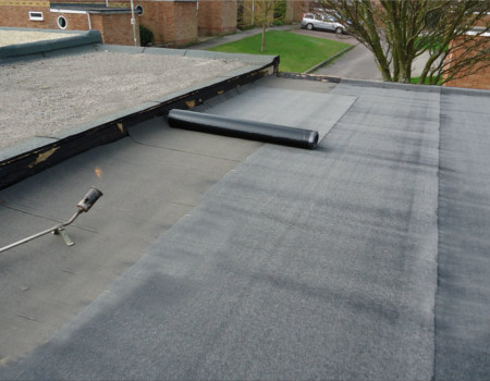 flat roof repairs Cheam