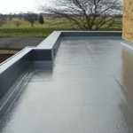 fibreglass flat roof Lambeth