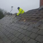 leaking roofing repair Cobham