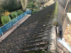 leaking roof West Barnes